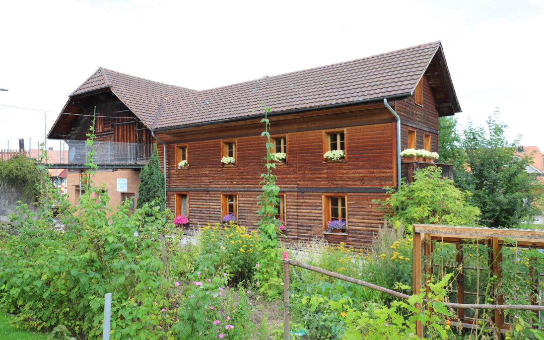 Wohnhaus mit Tenne im Zentrum von Schwarzenburg