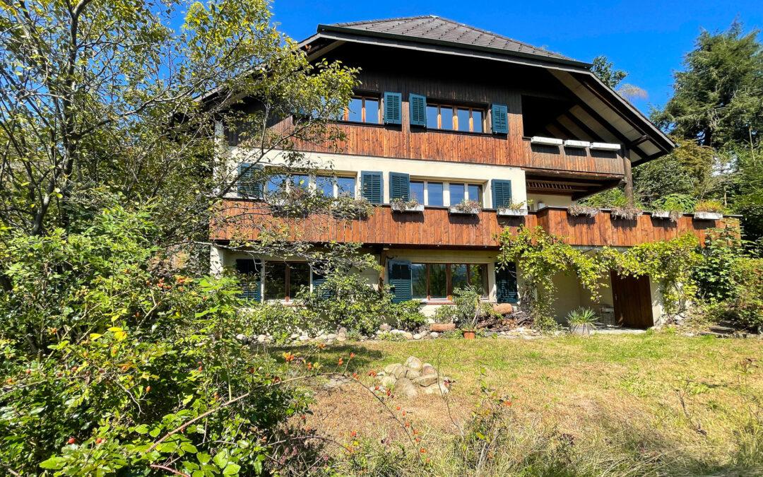 Grosszügiges Eigenheim am Sonnenhang von Langnau