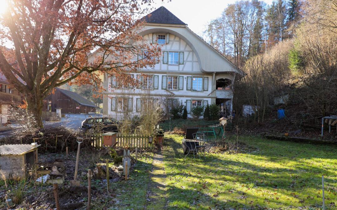 Historische Liegenschaft «alte Mühle» Schüpfen