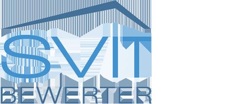 Logo mit Link zur Bewertungsexperten-Kammer SVIT
