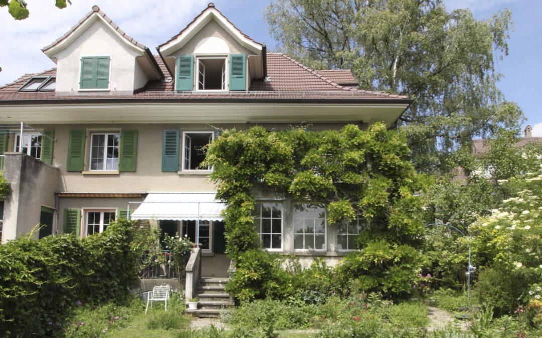 Charmantes Einfamilienhaus mit grosszügigem Garten
